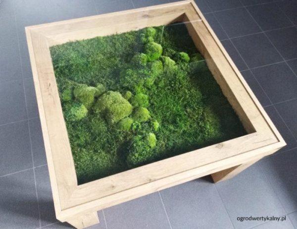 zielone meble