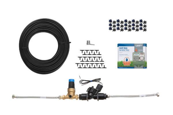 zestaw do nawadniania ze sterownikiem i elektrozaworem